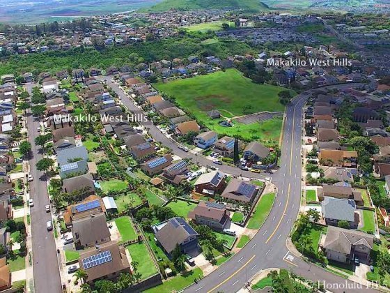 Makakilo West Hills Homes - Aerial Photo