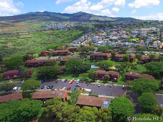 Makakilo Mala Townhomes - Aerial Photo