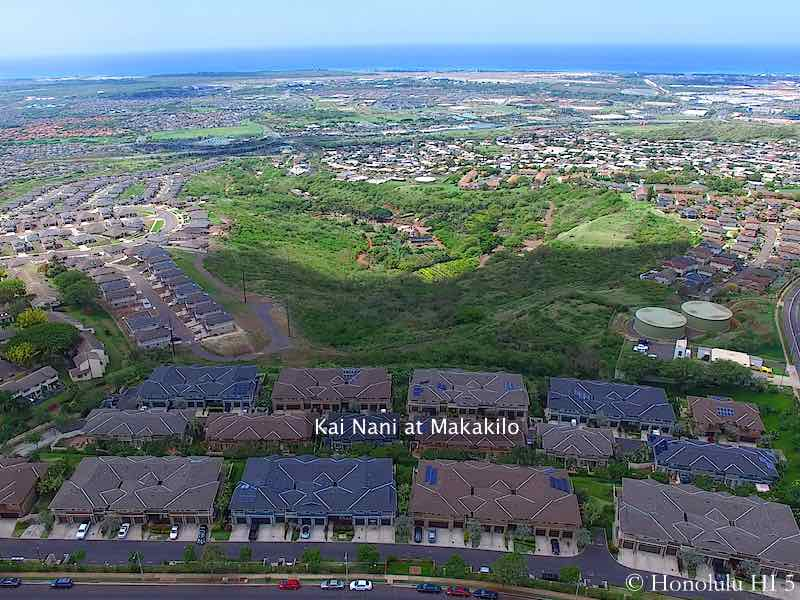 Kai Nani at Makakilo Townhomes - Aerial Photo
