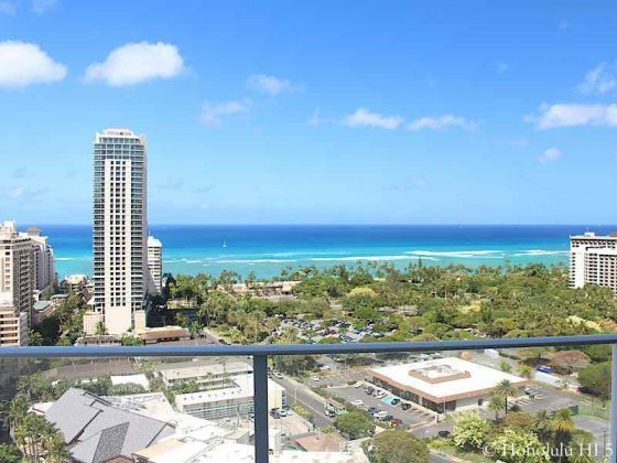 Ritz-Carlton Waikiki Tower 1 South Facing Ocean Views From 23rd Floor