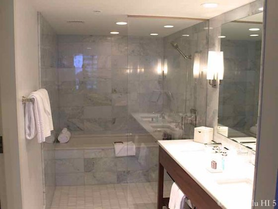 Ritz-Carlton Waikiki Tower Bathroom