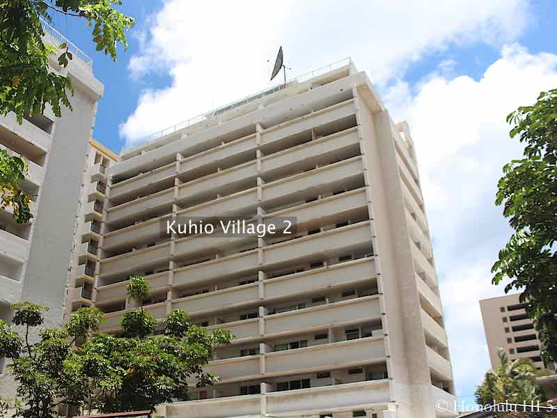 Kuhio Village Two in Waikiki