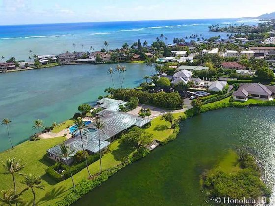 Paiko Lagoon Luxury Estate and Homes - Drone Photo