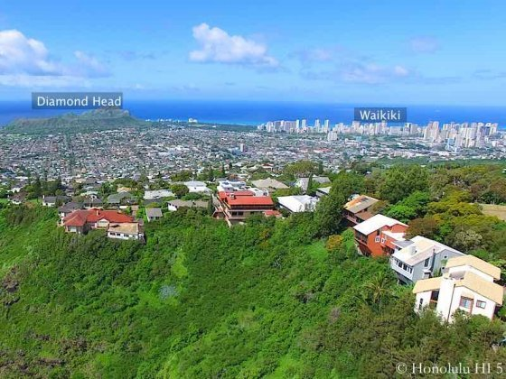 Maunalani Heights Homes - Drone Photo