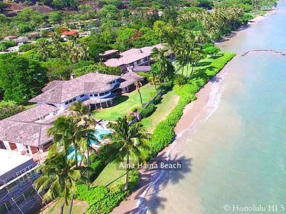 Aina Haina Beach Estate - Luxury Honolulu Real Estate