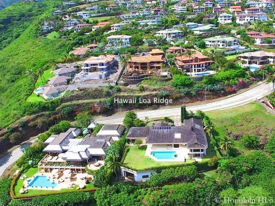 Hawaii Loa Ridge Luxury Estates in Honolulu