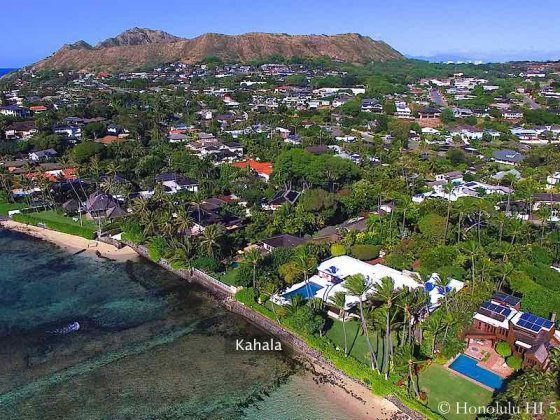 Kahala Luxury Oceanfront Homes in Honolulu