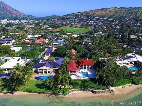 Portlock Honolulu Beachfront Luxury Homes