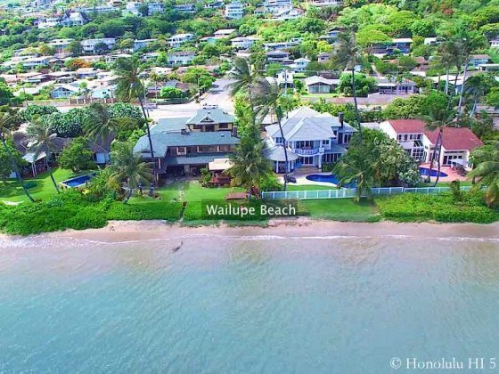 Wailupe Beach Homes - Luxury Honolulu Real Estate