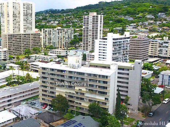 Makiki Colony Condo in Honolulu