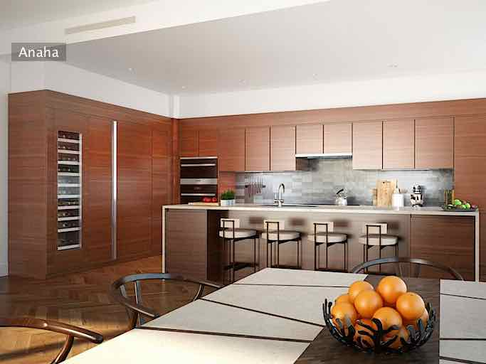 Anaha Penthouse Kitchen Rendering