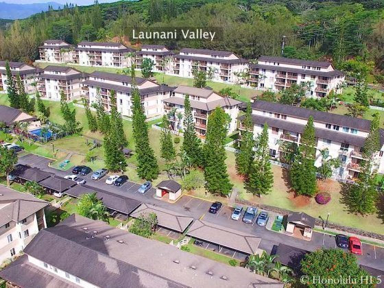 Launani Valley Condos on Oahu