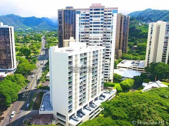 Sakura Condo in Nuuanu Honolulu