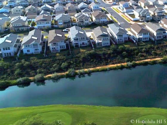 Hoakalei Golf View Homes - Drone Photo