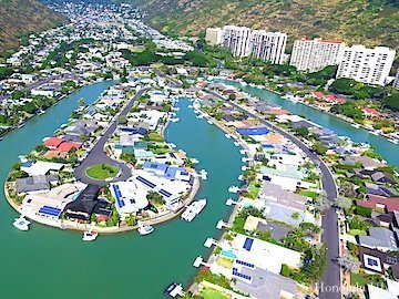 Hawaii Kai Marina Front Homes