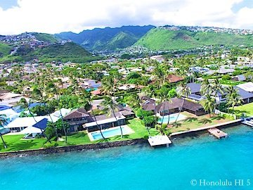 Honolulu Oceanfront Homes