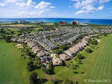 Ko Olina Real Estate - Drone Photo