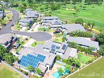 Kapolei Homes - Drone Photo