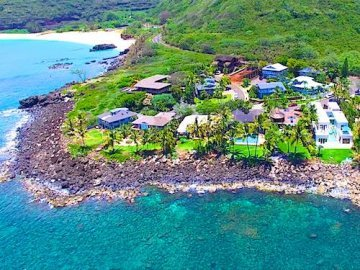 North Shore Oahu Oceanfront Homes