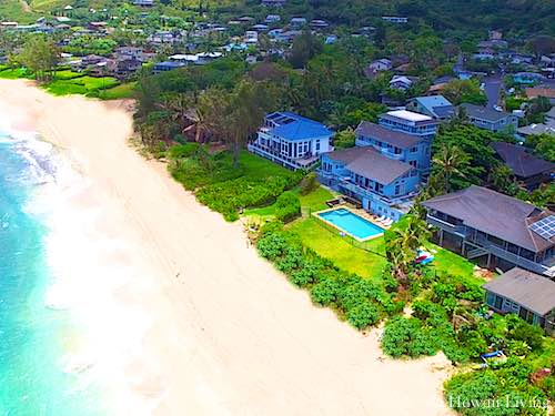 Oahu Homes - Oceanfront on the North Shore