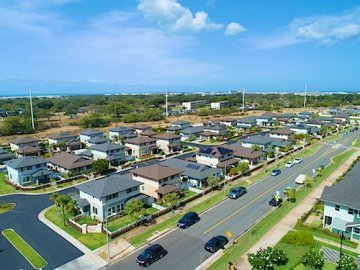 Newer Homes in Kapolei - Drone Photo