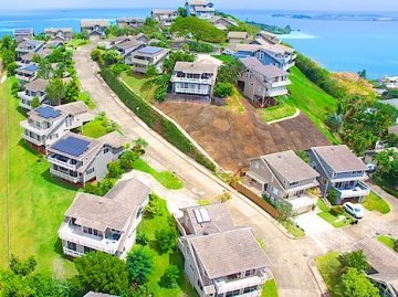 Homes in Kaneohe - Drone Photo