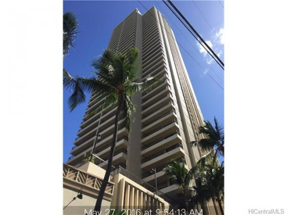 Waikiki Beach Tower #603 201612879