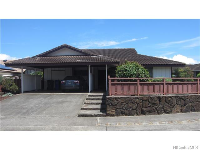 Mililani Town House (undisclosed address) 201623473