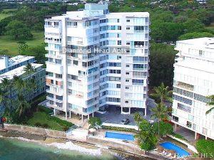 Diamond Head Apartments - Drone Photo