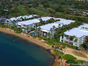 Kahala Beach Condo - Drone Photo