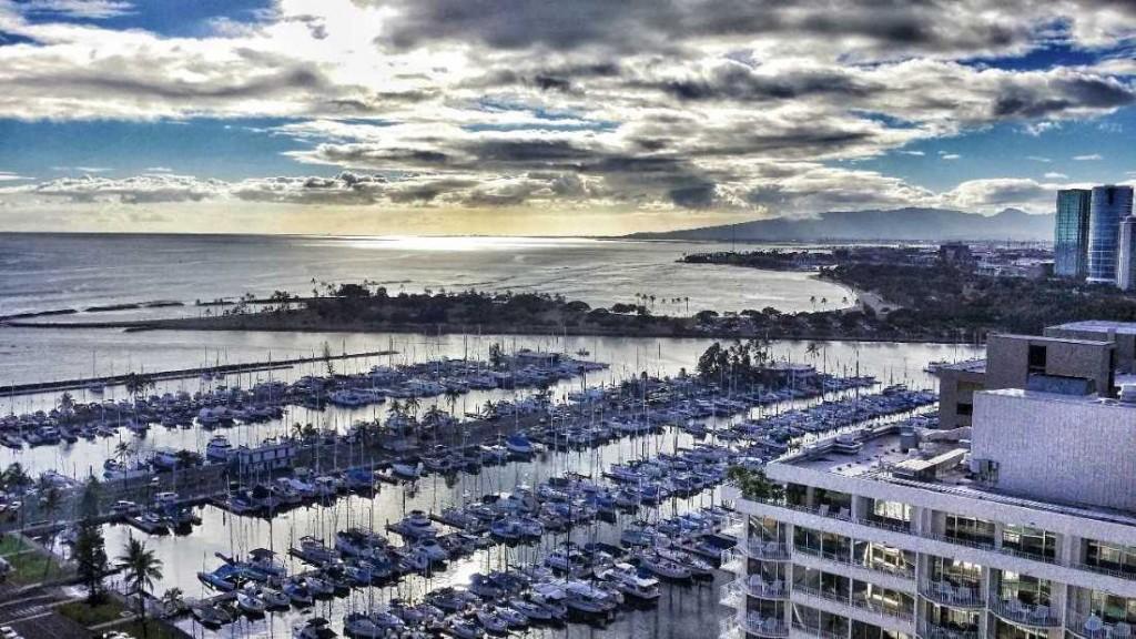 Ilikai - marina view