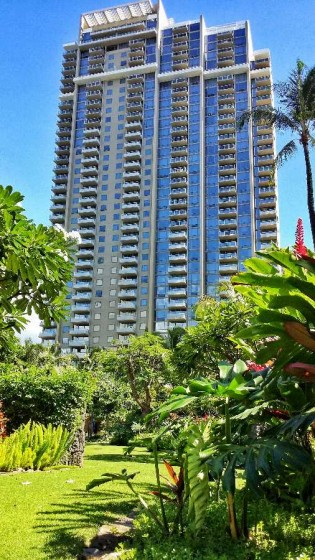 The Watermark Waikiki Garden Area
