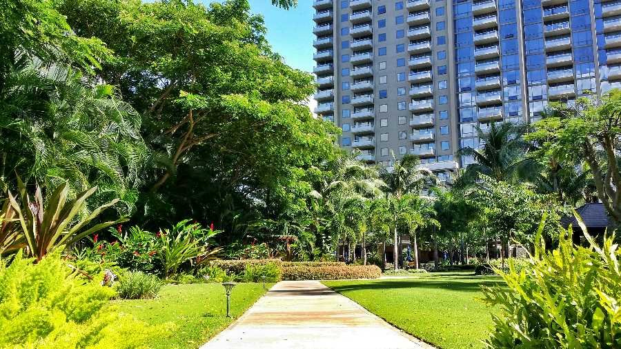 The Watermark Waikiki Walkway