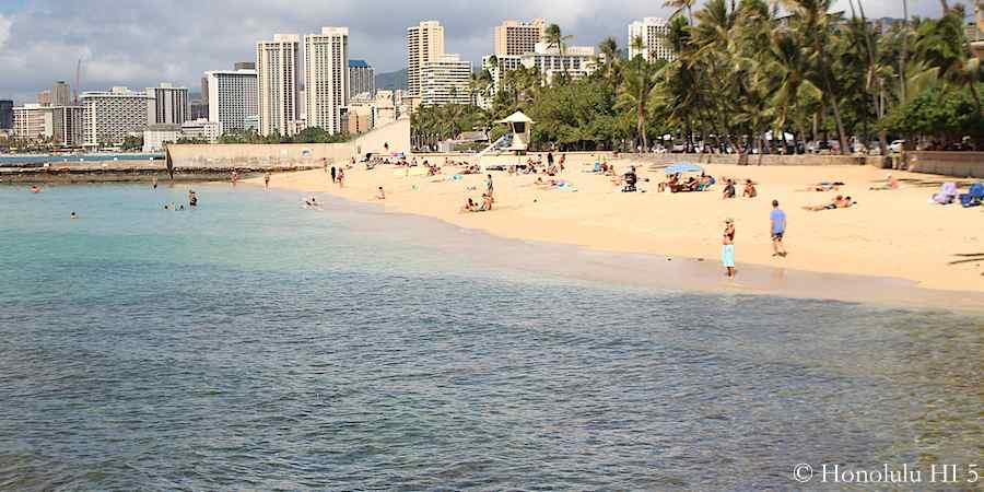 Kaimana Beach.