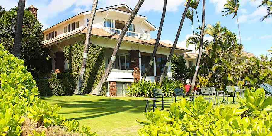 Beach Front House in Diamond Head.