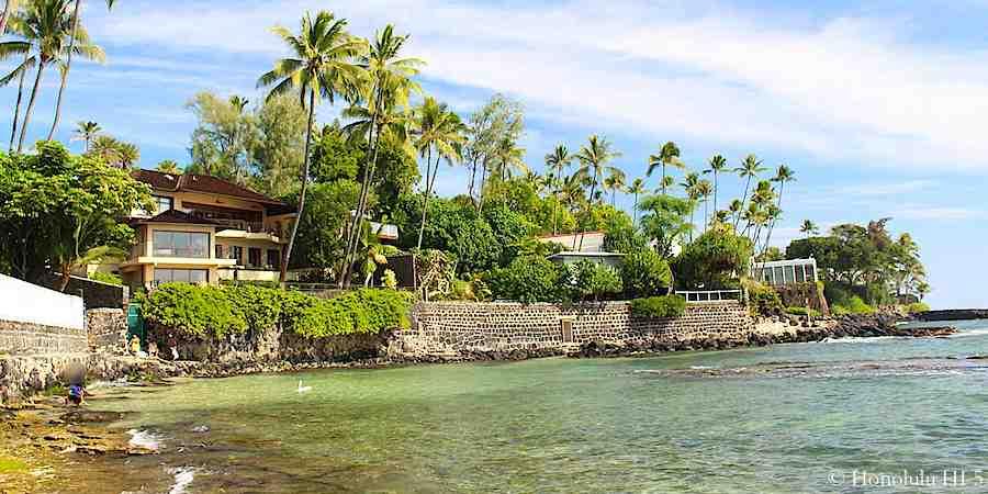 Oceanfront Diamond Head Homes