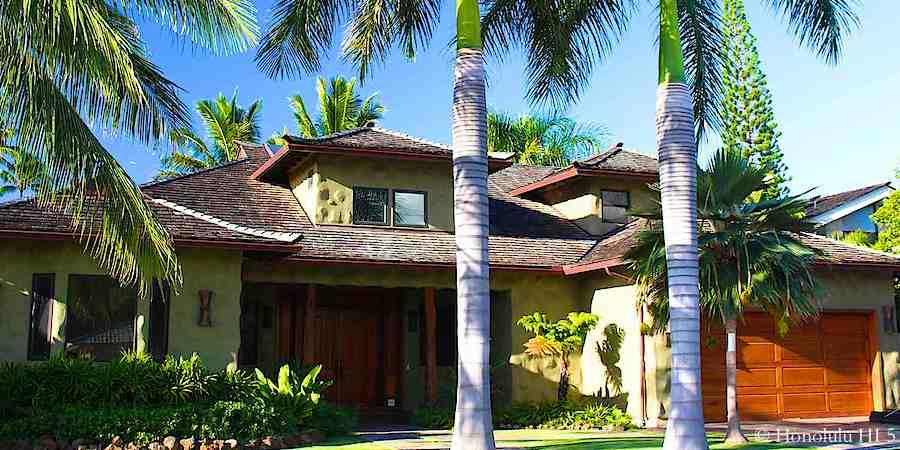 Island Style Luxury Home in Kahala