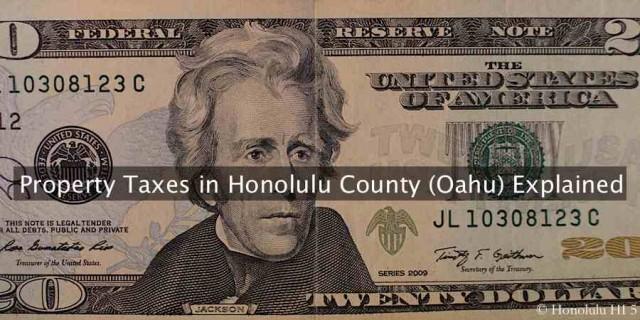 Honolulu Property Tax Exemption Age