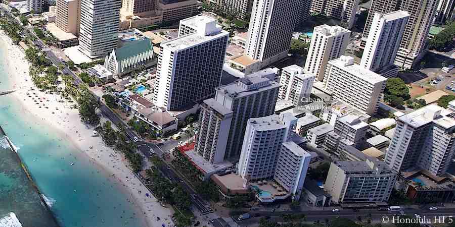 Cabana at Waikiki