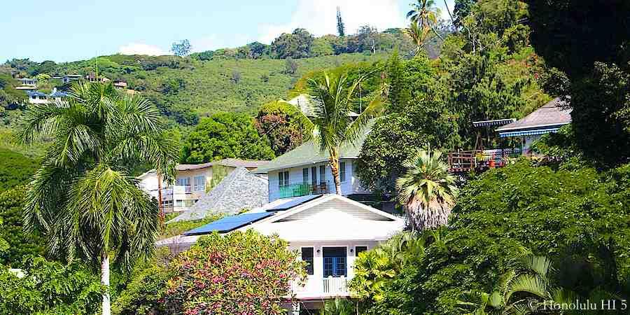 Houses in Makiki Heights