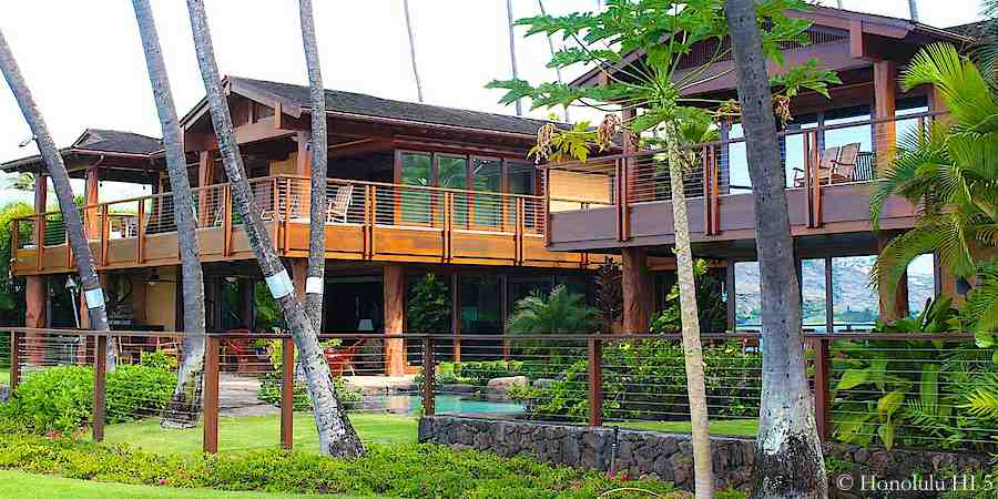 Oceanfront Portlock Home