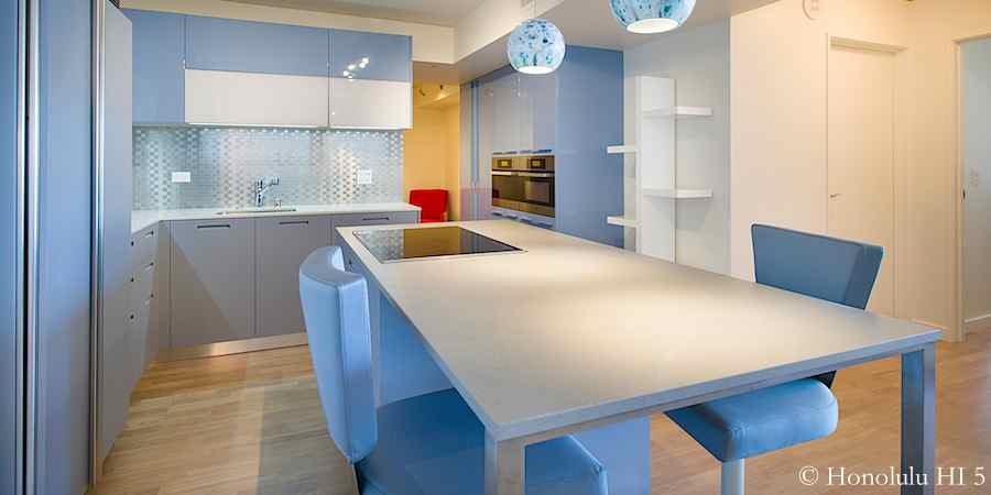 Ultra-contemporary Valdesign kitchen in Moana Pacific #1507