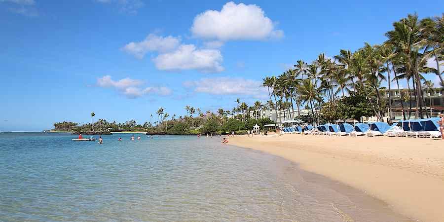 Kahala Hotel Beach