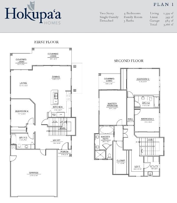 Hokupa'a - Plan1