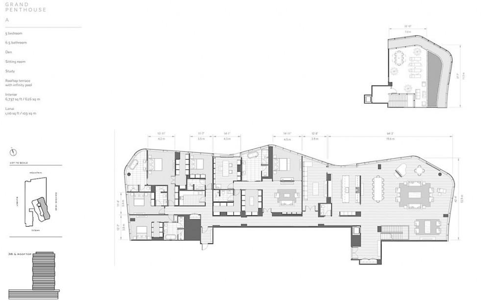 Anaha Grand Penthouse A Floor Plan
