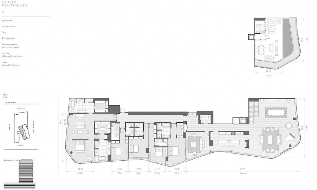 Anaha Grand Penthouse B Floor Plan
