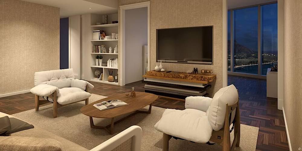 Anaha Grand Penthouse Media Room