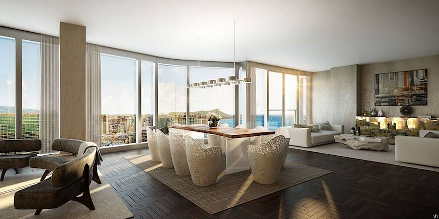Anaha Grand Penthouse A Living & Dining Room