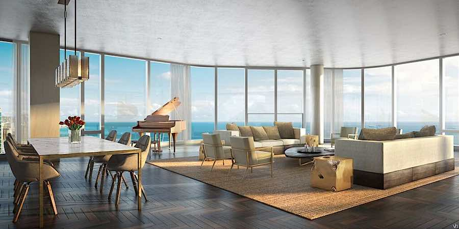 Anaha Grand Penthouse Living & Dining Room