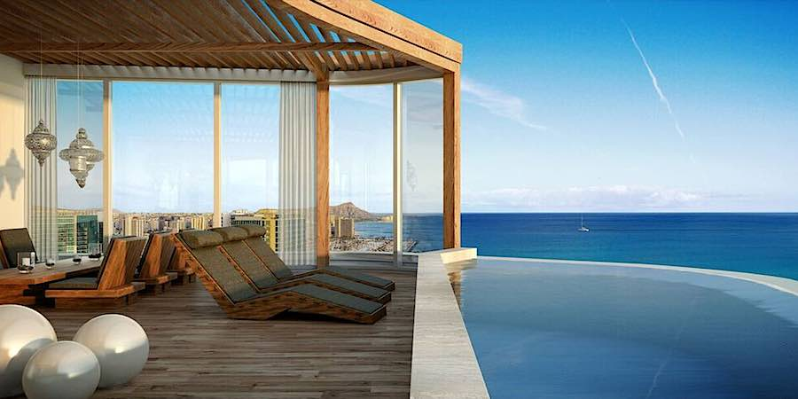 7 new grand penthouses for sale in honolulu hi for Terrace of infinity